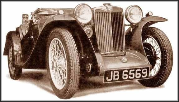 "<I> ""A sportscar shall look fast, even when it is standing still"". PB Midget 1935.</I>"