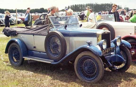 <I> 14/40 4-seater 1929. © Jan Borgfelt</I>