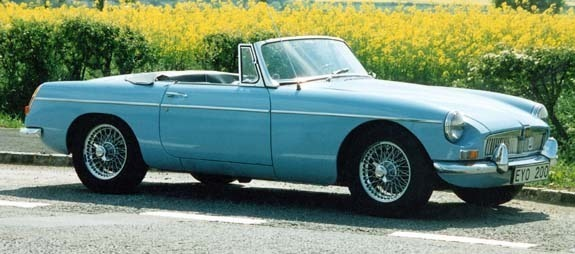 <I> MGB Tourer 1965. © Jan Borgfelt</I>