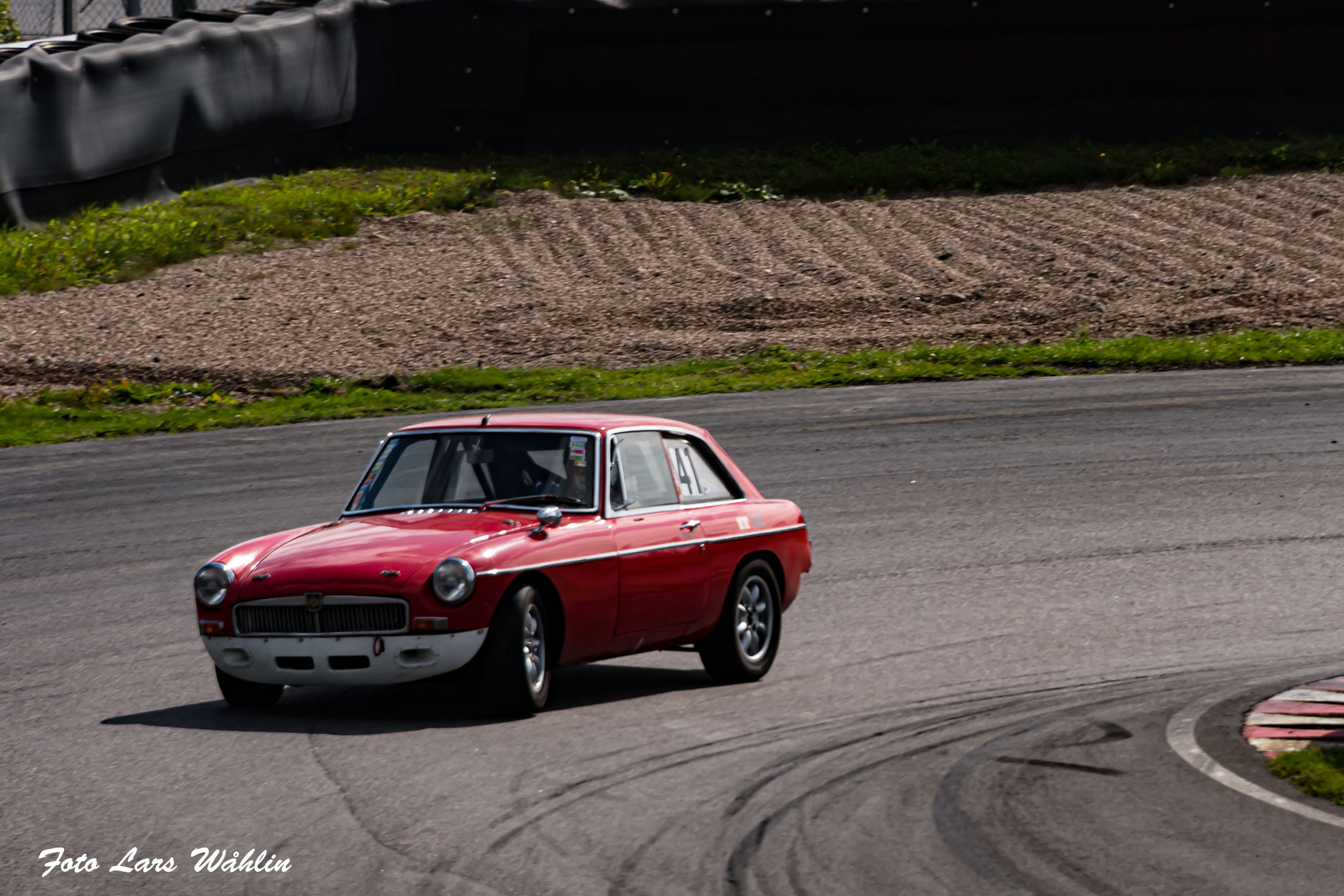Ted Scott MGB GT